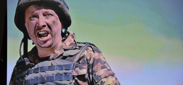Перший в Україні відеоролик про важливість психологічної реабілітації бійців презентували у Дніпропетровській ОДА