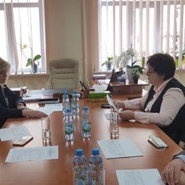 12 травня 2020 року з робочим візитом на Хмельниччині перебувала заступник Міністра охорони здоров'я України Ірина Микичак